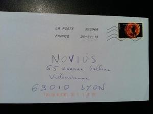 Enveloppe Lyon Villeurbanne