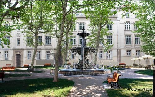 Photomontage de la place Guichard
